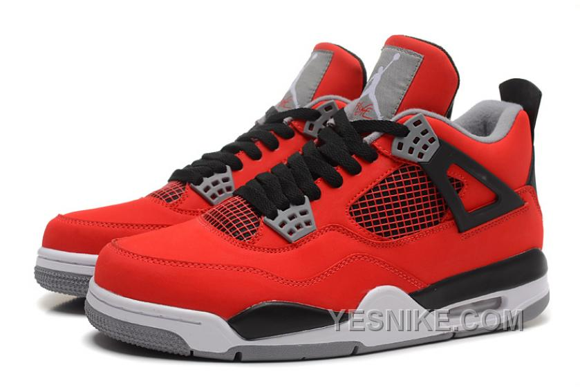 "470fa9c8122eab Big Discount! 66% OFF! Air Jordan 4 (IV) Retro ""Toro Bravo"" Fire Red ..."