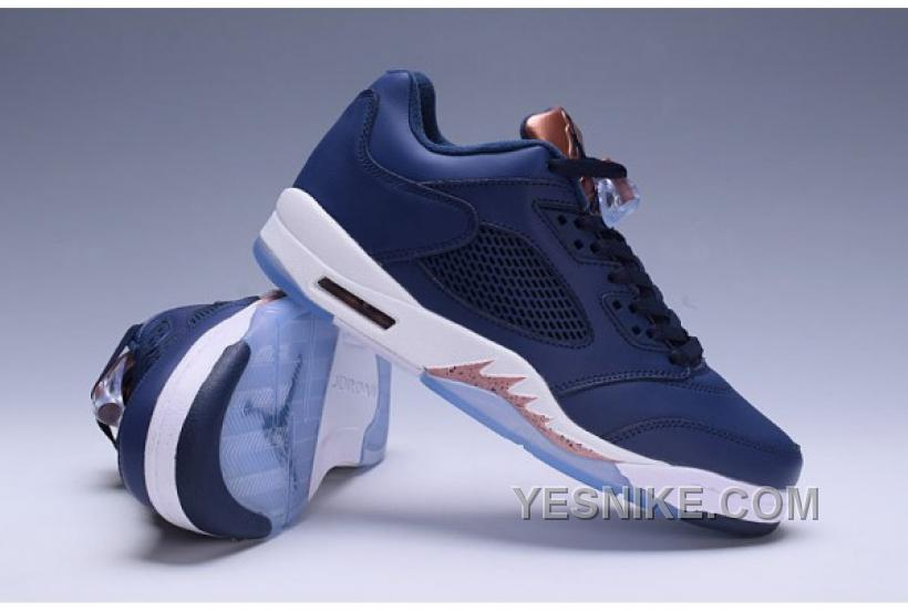 new concept e9a97 4331a Big Discount! 66% OFF! Air Jordan 5 Bronze Black Copper Blue White BNzBD