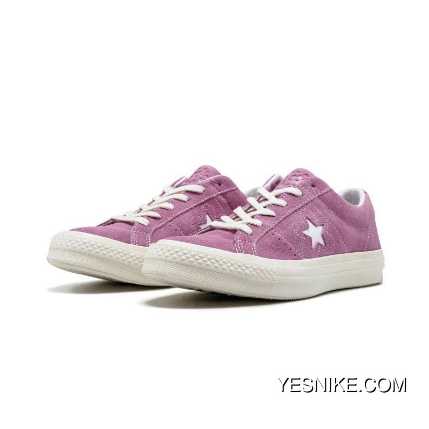 Converse One Star X Golf Le Fleur Collaboration Limited Deerskin Bee TTC Collaboration Bee Purple 159433 C Size For Sale