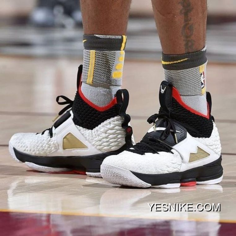 19b86bced79 Free Shipping Only Pick Up Really Full-palm Fiber Column As The Only Real  Version Nike Lebron Prime 15 James Leblanc Squama ...