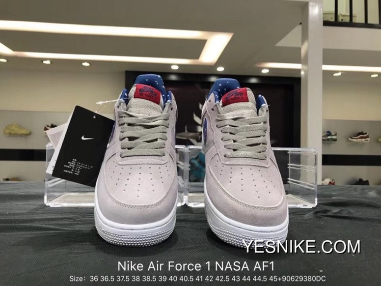 hot sales 7aa2d 1f935 New Style Nike Air Force 1 NASA Astronauts AF1 LUNAREPIC Star Low Casual  Sneaker AQ0556-