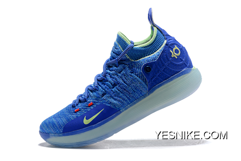 2d4b9321e6a Nike KD 11 EP Warriors Blue Yellow New Year Deals