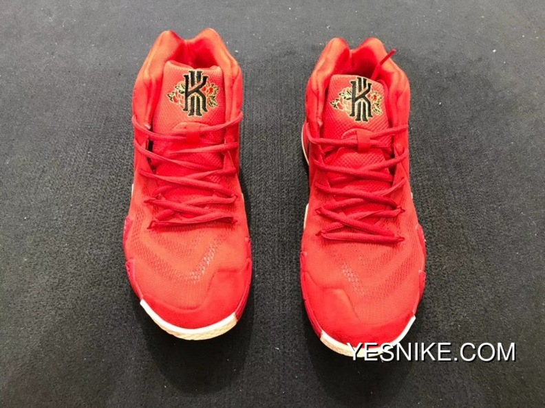 best service 2ee81 d367c Discount Nike Kyrie 4 Owen 4 Chinese Red Embroidery Combat Also Shoes Size  90412350 ZGM 943807-600