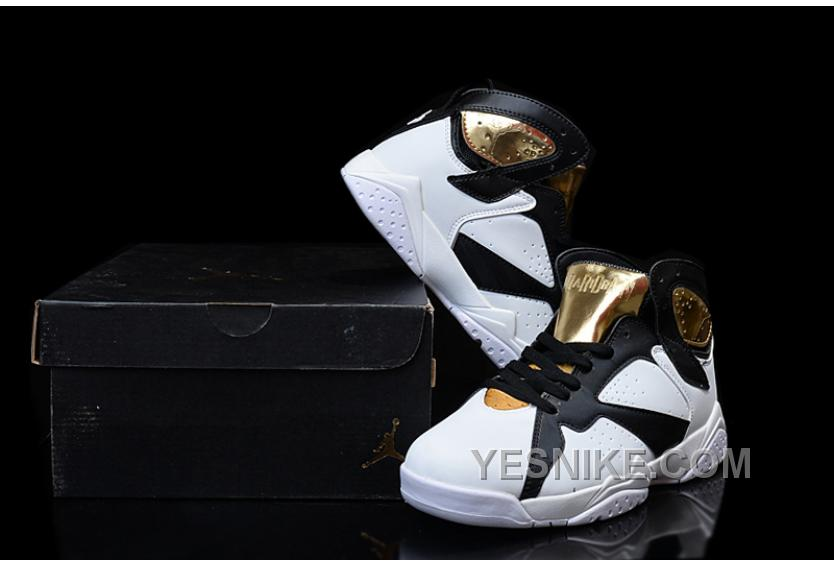 5e14ed8fb22 Big Discount! 66% OFF! Air Jordan 7 Championship Pack White Metallic ...